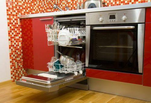 Встроенная посудомоечная машинка