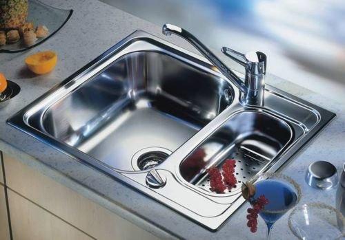 Раковина (мойка) на кухне в столешнице