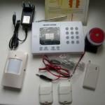 Монтаж проводной сигнализации
