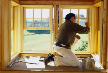 Ремонт деревянного окна старого образца